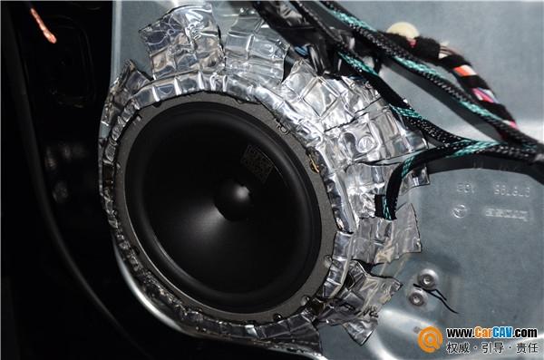 青岛丰慧奔驰R320汽车音响改装丹拿 这样改才够味