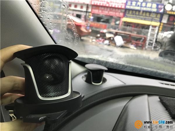 苏州亿丰纳智捷优6汽车音响改装DLS 完美音质