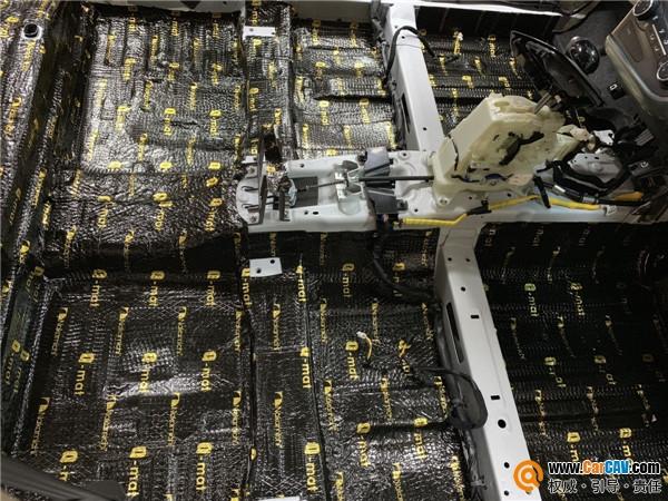 天津炫音车改起亚K5汽车隔音改装中道 你想要的安静