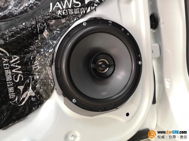 上海天目本田飞度汽车音响改装JBL 只为好性能