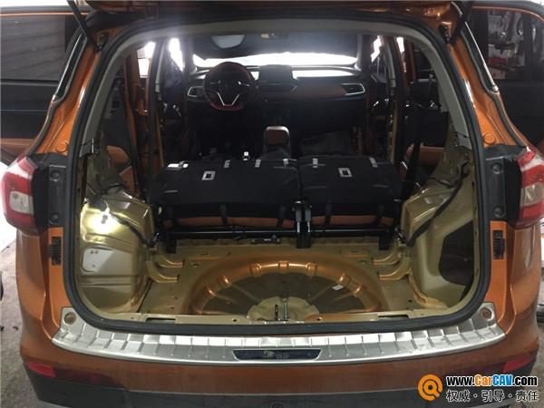 泉州靚車匯寶駿510汽車隔音改裝英國皇家騎士 要時尚更要安逸