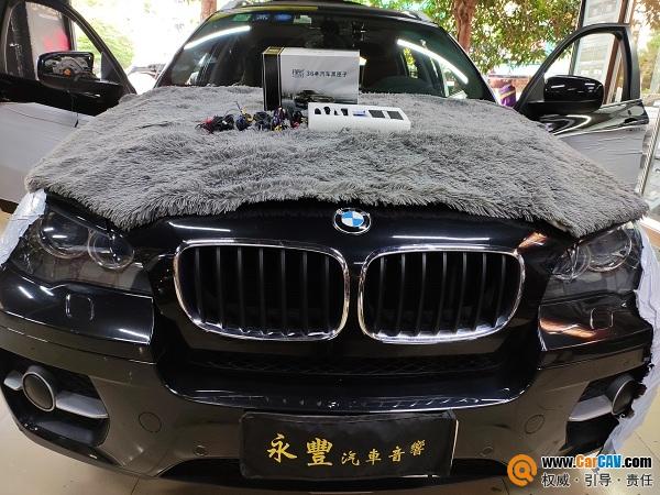 中山永豐寶馬X6汽車升級探長2T全景記錄儀 道路千萬條 安全第