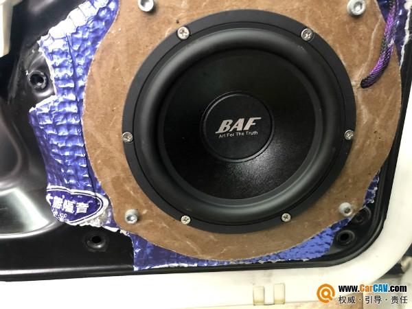 英国百富龙BAF主动三分频音响系统 让保时捷