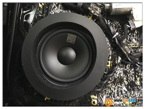 昆山音悅聽奔馳GLE300汽車音響改裝丹拿 科技之光