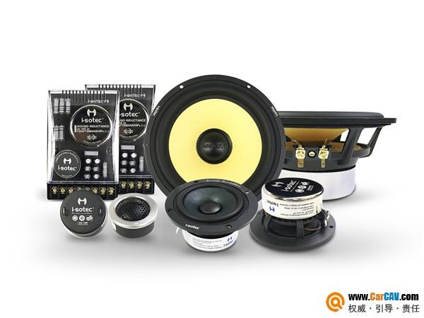 德国艾索特i-sotec PE165 3三分频套装喇叭