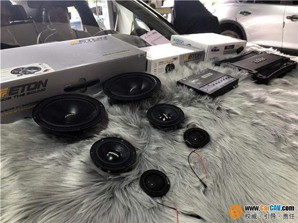 武漢歌德英菲尼迪QX50汽車音響改裝伊頓 暢快聆聽