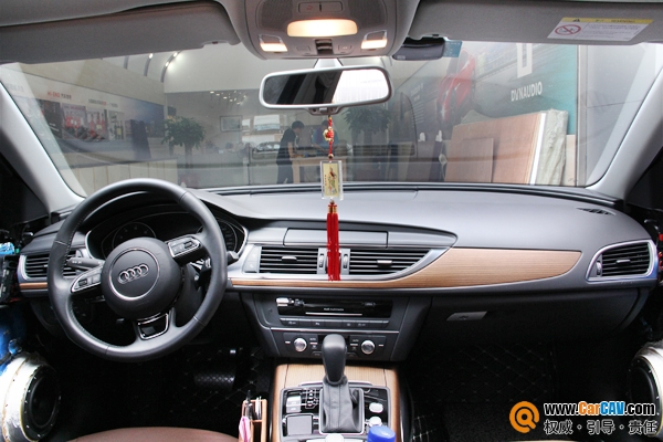 廣州奕歌奧迪A6汽車音響改裝丹拿 享受音樂