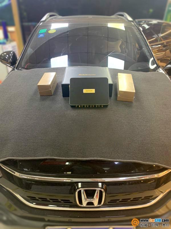 本田XRV汽車音響改裝丹拿372三分頻 高手云集的音響系統
