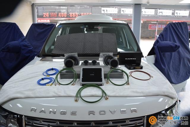 蘇州廣東仔路虎發現5汽車音響改裝丹拿 打造高端音響