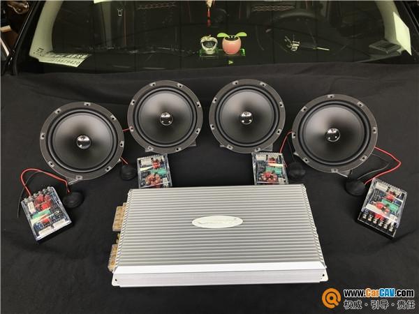 苏州亿丰日产逍客汽车音响改装卡顿 听了会上瘾的音乐