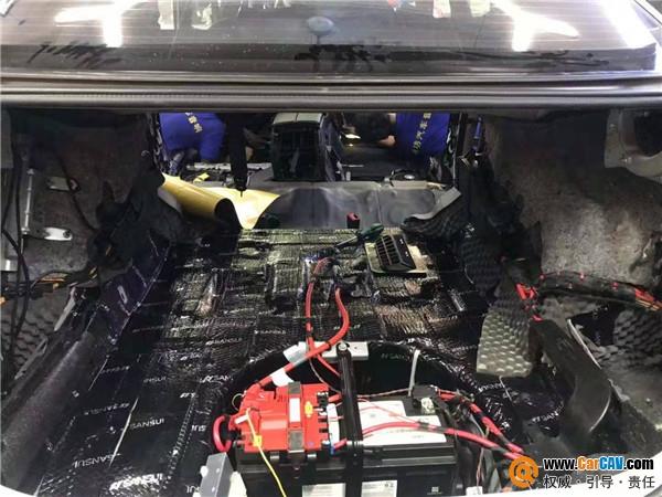 南宁魔坊宝马5系汽车隔音改装低频卫士 打造静谧体验