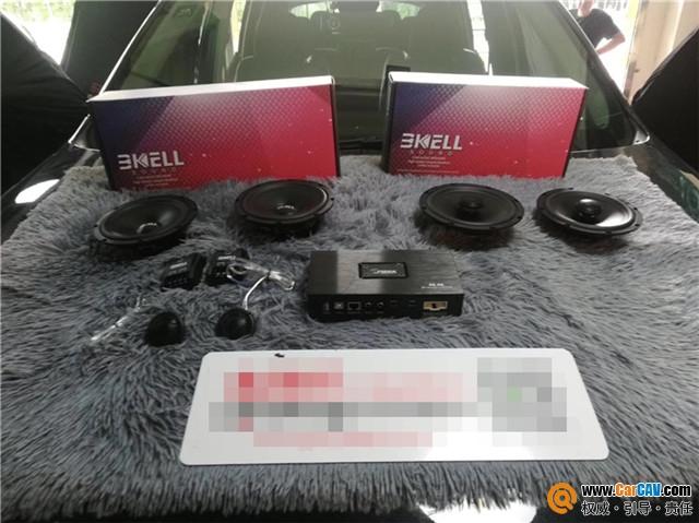 杭州车改坊JEEP指挥官汽车音响改装霸克 天籁之音
