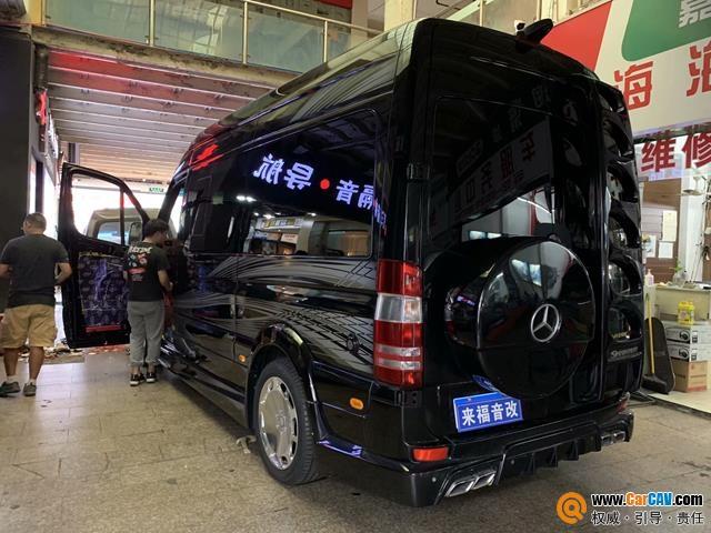 上海来福奔驰斯宾特汽车音响改装德国曼斯特 听觉的盛宴