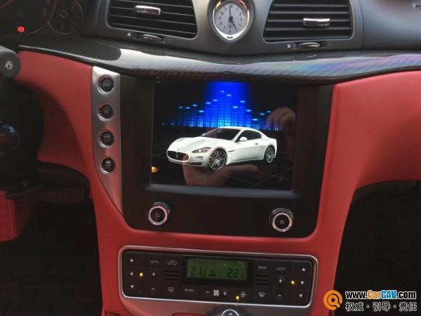 马莎拉蒂GT升级朋辉光纤主机 定制专属音乐