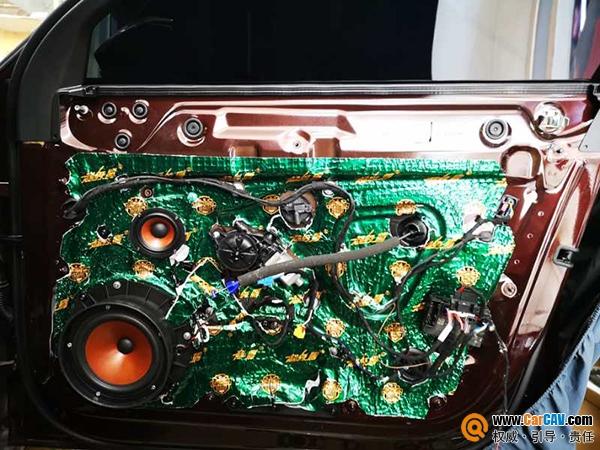 超高还原度,新款奥迪A6L搭配妃仕组合三分频就是
