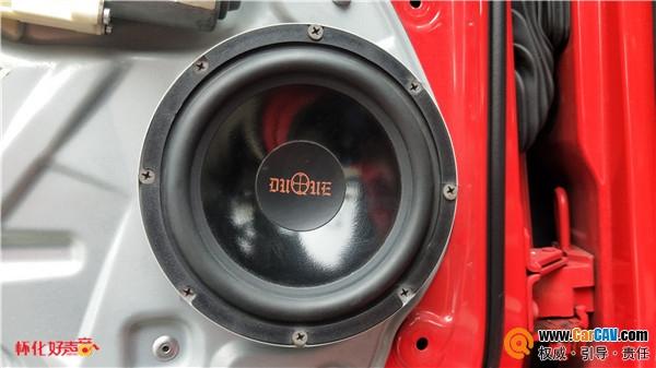 怀化好声音 大众POLO汽车音响改装酷爵音响 颇具质