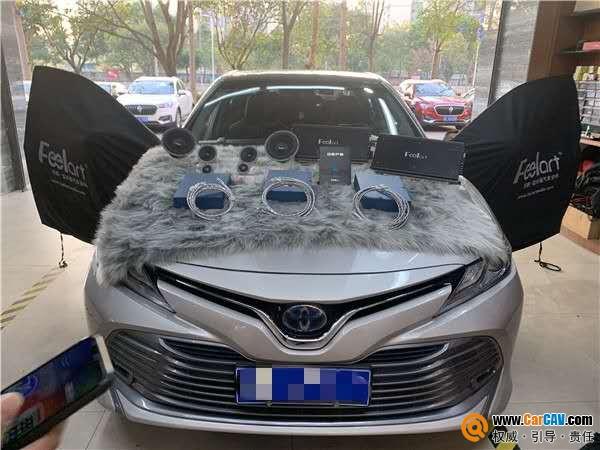 HI-FI高保真品质 清远道声丰田凯美瑞汽车音响改装