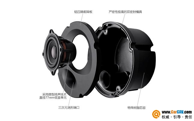 马自达CX-3音响升级日本Sonic Design 要求重塑喇叭箱体