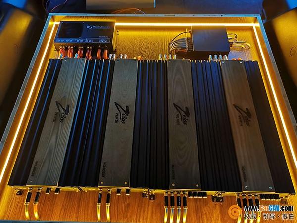 威迪佐罗功放加持,丰田超霸30万+打造的音响系统超正点