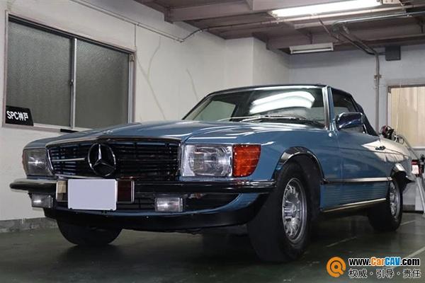 经典传承!老爷车梅赛德斯奔驰SL500音响升级声丽创音