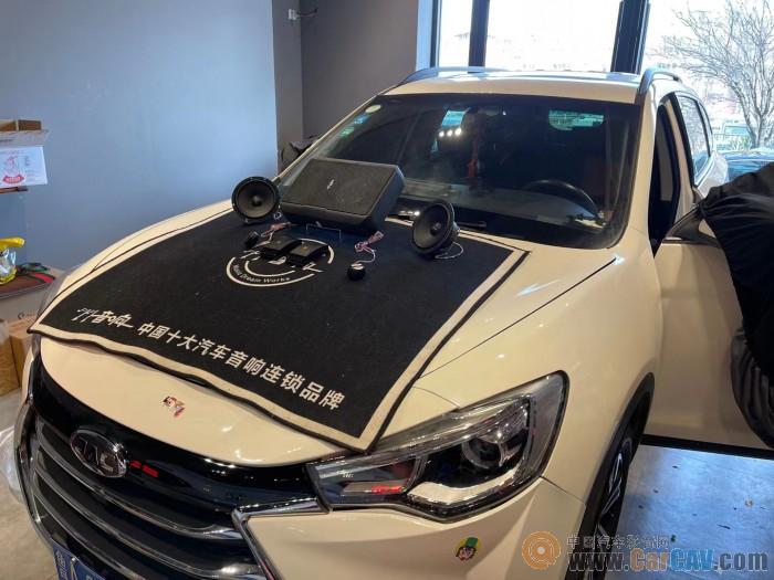 济南77瑞风S7汽车音响改装惠威 清晰自然