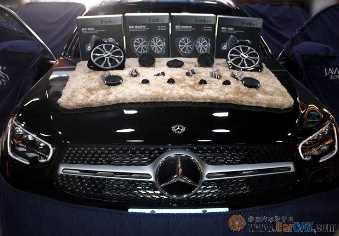 聆聽心跳 鄭州環亞奔馳GLC300L汽車音響改裝芬朗