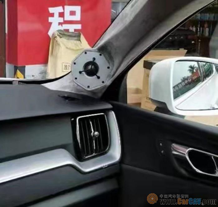 惠东德城沃尔沃xc90汽车音响改装诗蔓 品味音乐魅力