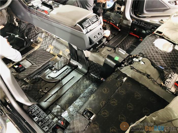 武汉歌德奥迪A8汽车隔音改装StP 豪车隔音针对解决