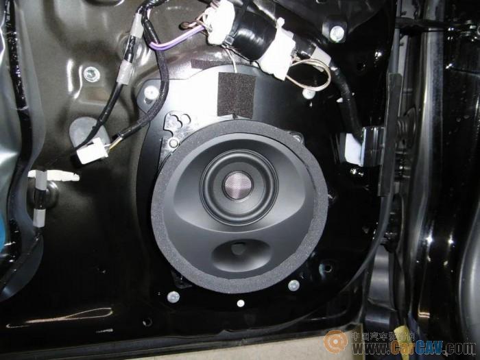 丰田普锐斯音响升级声丽创音,无需大系统一样极具