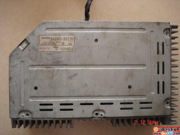 求老 丰田 皇冠3.0的原车 功放86280 30170 接线高清图片