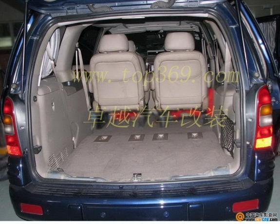 广州卓越 别克GL8改装电动座椅 扶手箱 汽车影音网论坛 汽车音响改装.