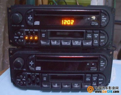 道奇主机,cd机芯已拆除卖掉,现只有卡带、收音功能(美版107高清图片