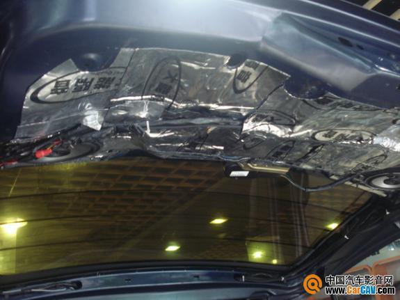广州车元素汽车音响 老款别克GL8音响改曼琴 4高清图片