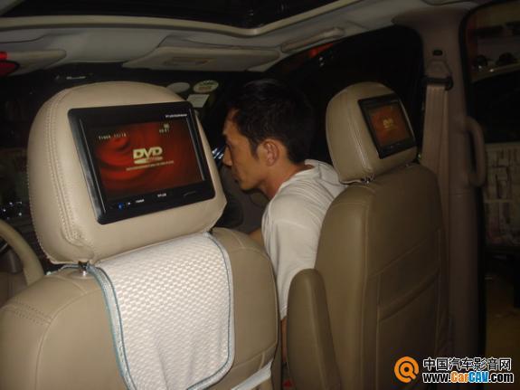 广州车元素汽车音响 老款别克GL8音响改曼琴 6高清图片