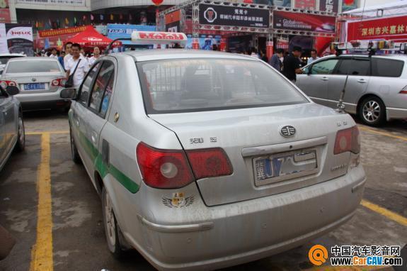 第一个走出沧州的车改装一汽威志出租车高清图片