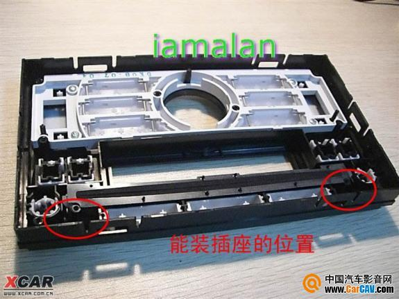 cd加aux接口的最新改法作业 改善当外接mp3时的音质 汽车影高清图片