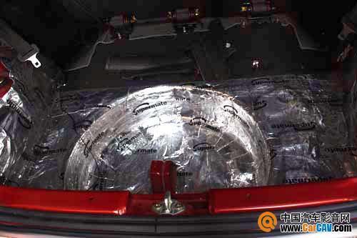 雨燕叶子板,后尾箱隔音 汽车影音网论坛 汽车音响改装升级 汽车导航高清图片