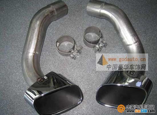 宝马X5排气改装 德国原装进口宝马X5尾喉排气改装 有图 汽车影音网高清图片