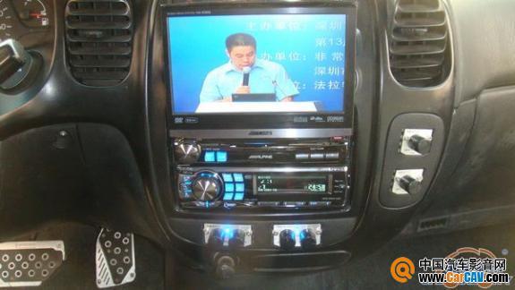 深圳非常城市汽车音响 江淮瑞风汽车音响改装赫兹 2高清图片