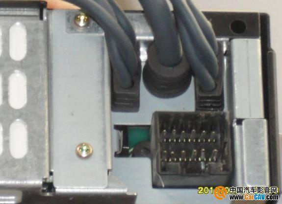 求助 阿尔派7620e哑巴机的接线定义高清图片