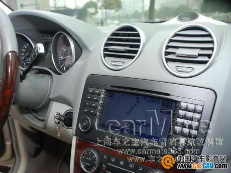 打造内敛雅致的奔驰ML350汽车音响改装高清图片