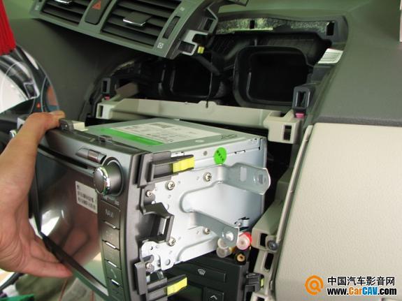 柳州大地震汽车音响 丰田卡罗拉音响改装摩雷 3图片