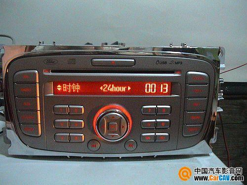 福特cd1053 车机接线图 高清图片