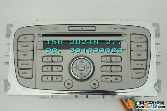 广州出40台福克斯cd机,带aux与usb第台150元 汽车影音网论高清图片
