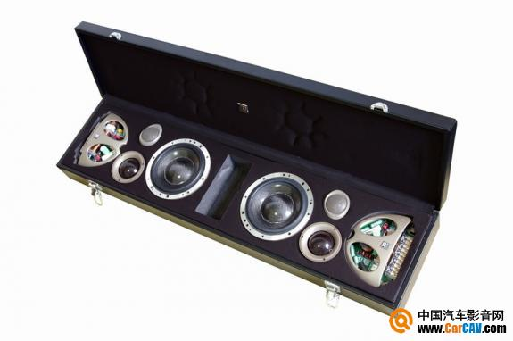 成都汽车音响改装 元音力作新君威摩雷意雷三分频音响改装1