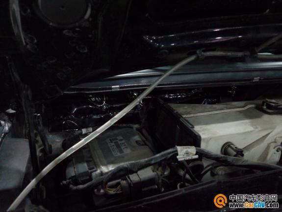杭州沃富林新桑塔纳3000隔音选择平静隔音和专业操作 汽车影音网论高清图片