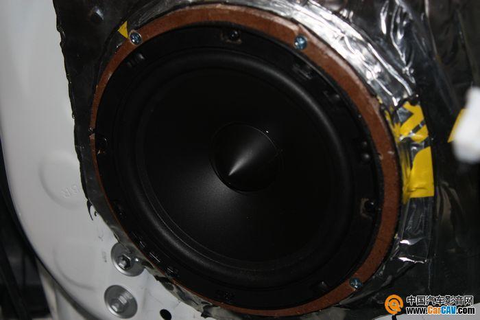 初次升级音响的享受 泉州新锐志专业汽车音响改装 2高清图片