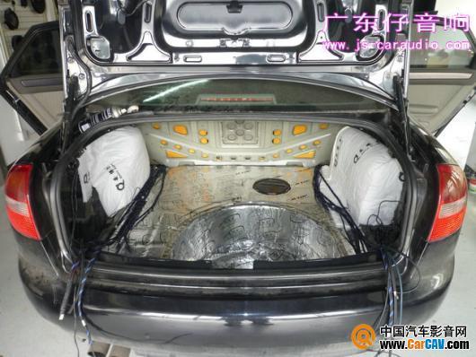 苏州广东仔奥迪A6汽车音响改装欧迪臣阿尔派 5高清图片