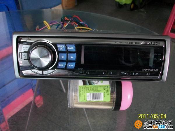 出台9881 CD机 汽车影音网论坛 汽车音响改装升级 汽车导航论坛 汽车高清图片