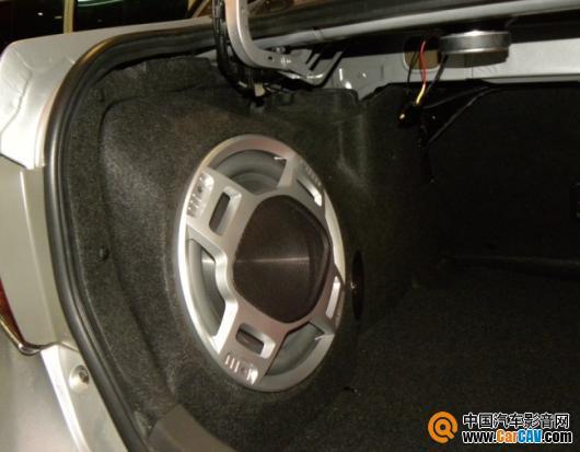 神卡酷 卡罗拉汽车音响改装专用功放 专用低音炮 专用喇叭高清图片